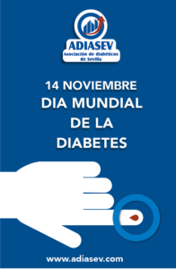 Cartel Día Mundial de la Diabetes.